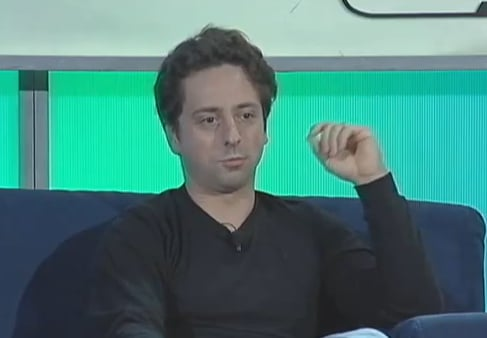 Sergey Brin Talks About Chrome For Macs and Google Books