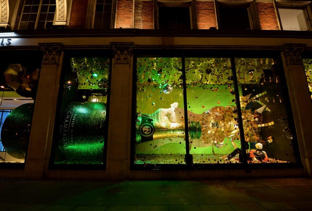 Harvey Nichols | London Christmas Lights and Windows 2018