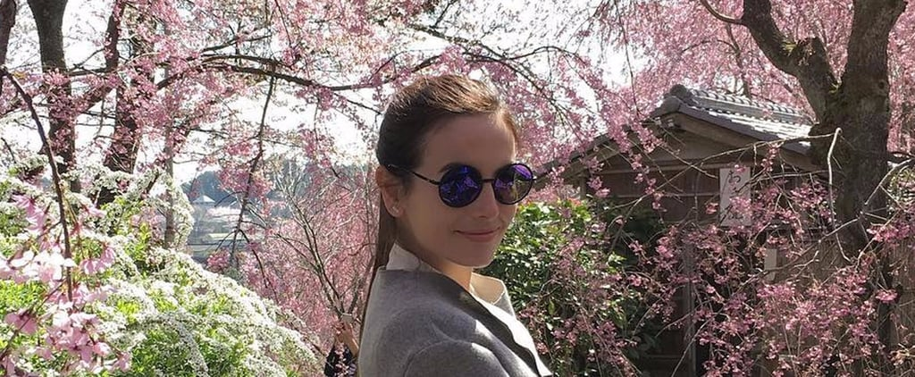 Camilla Belle Japan Vacation Pictures April 2017