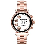 Michael Kors Analogue-Digital Watch With Stainless Steel Strap