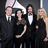 Joy Williams and John Paul White of The Civil Wars were flanked by their spouses at the Grammys this year.