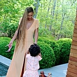 Beyoncé and Blue skipped Kim and Kanye's wedding and hung out in the Hamptons over Memorial Day weekend.