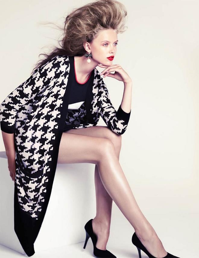 Frida Gustavsson Gives Us H&M's New Looks — and Makes Us Wish It Was Spring