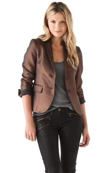 This Rag & Bone Bailey Jacket ($375, originally $535) is still an investment piece, but the classic blazer silhouette can easily be worn to work, cocktails, and even on the weekends when paired with jeans and a tee.