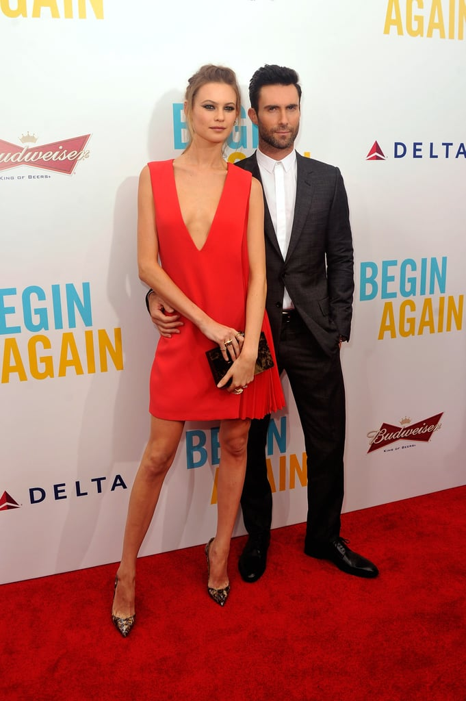 At the Premiere of Begin Again