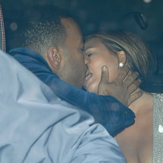 Chrissy Teigen and John Legend PDA After GQ Awards 2018