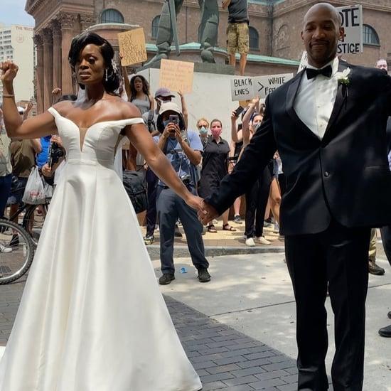 Philadelphia Couple Celebrate Wedding at Protest | Video