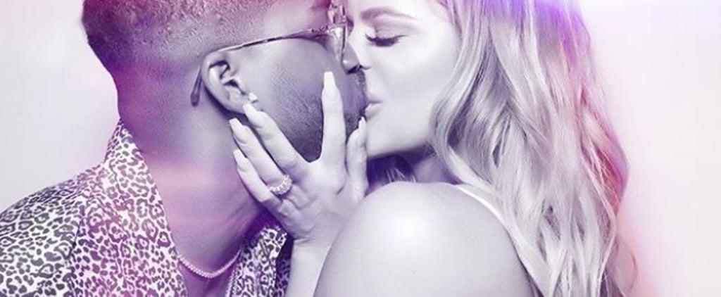 Khloé Kardashian Celebrates Tristan Thompson's Birthday With a Steamy Kiss and a Sweet Note