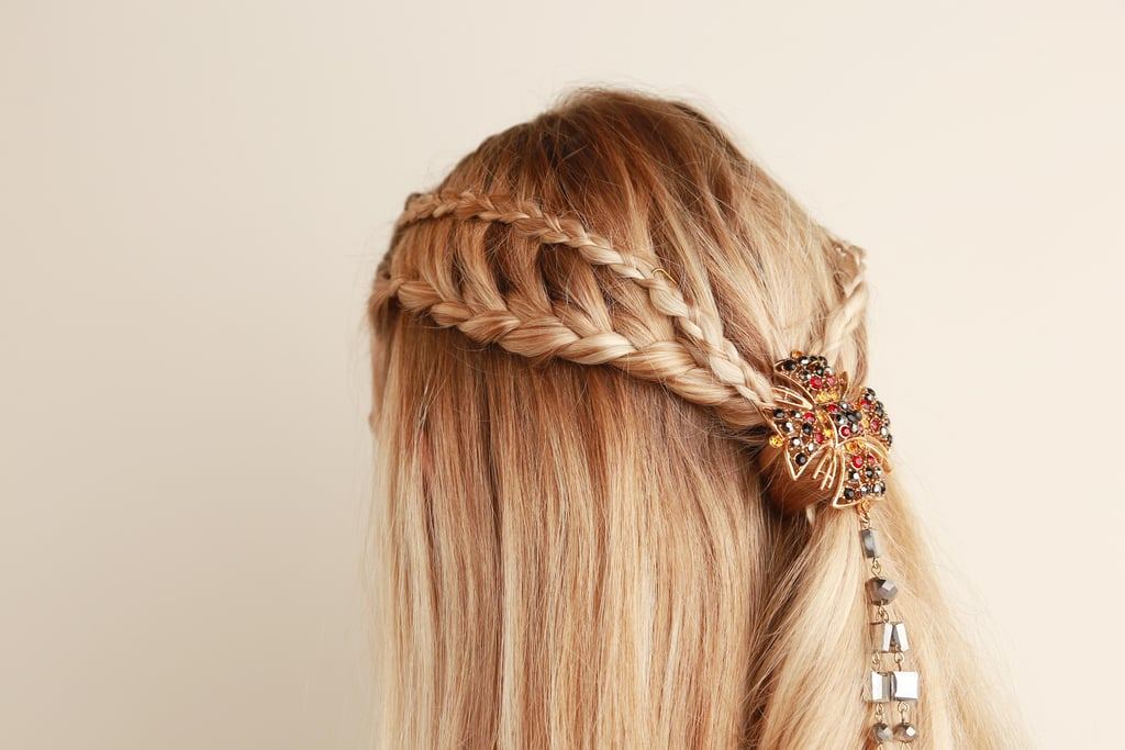 Game of Thrones Half-Up Braid