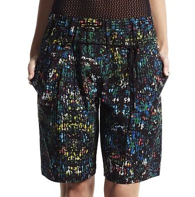 These Derek Lam for DesigNation paint-splattered shorts ($48) are the perfect canvas for a bevy of daytime and nighttime ensembles. For day, rock them with your favorite tee, then at night, throw on a leather tank.