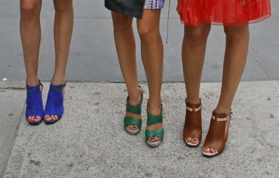 Spring 2012 New York Fashion Week Street Style: Shoes