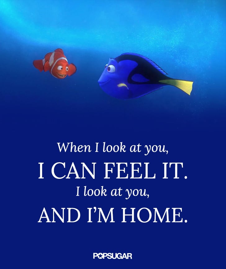 Finding Nemo Disney Love Quotes Popsugar Love Sex Photo 3