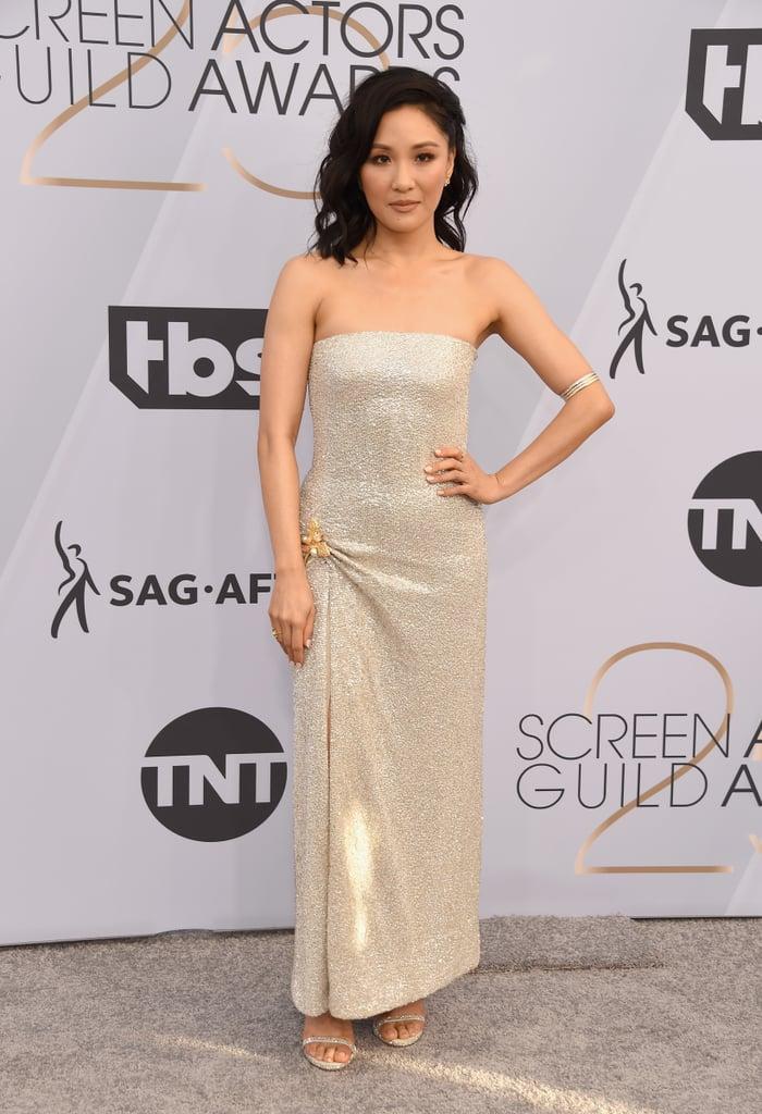 Constance Wu at the 2019 SAG Awards