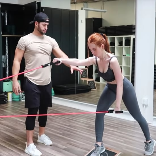 Madelaine Petsch Shared a Video of Her Workout Routine