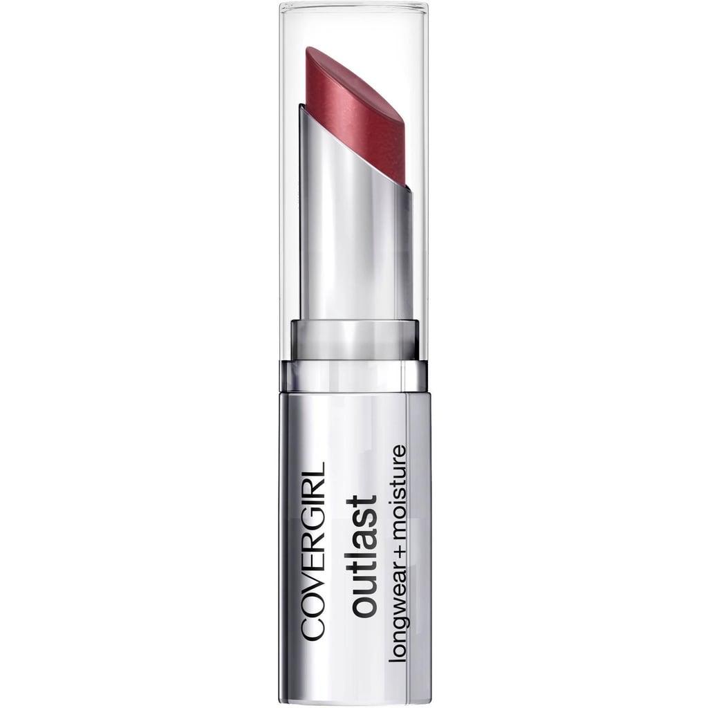 CoverGirl Outlast Longwear + Moisture Lipstick in Amazing Auburn ($9)