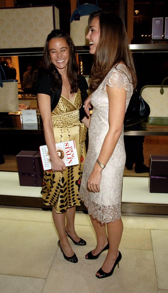 Kate and Pippa Middleton Photos
