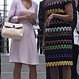 But It's Not the First Time She Acted as Michelle's Style Partner in Crime
