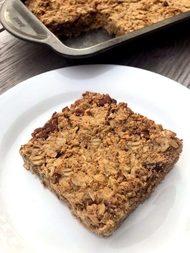Peanut-Butter Protein Granola Bars