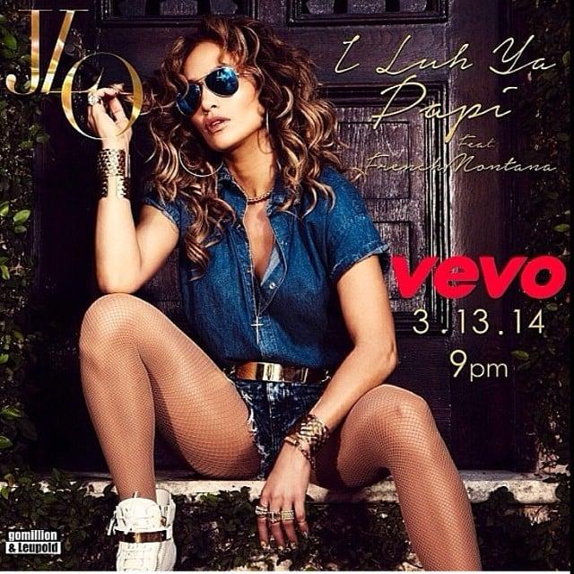 "Jennifer Lopez's Nails in ""I Luh Ya Papi"" Video"