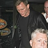 Daniel Craig attended an SNL afterparty in NYC.
