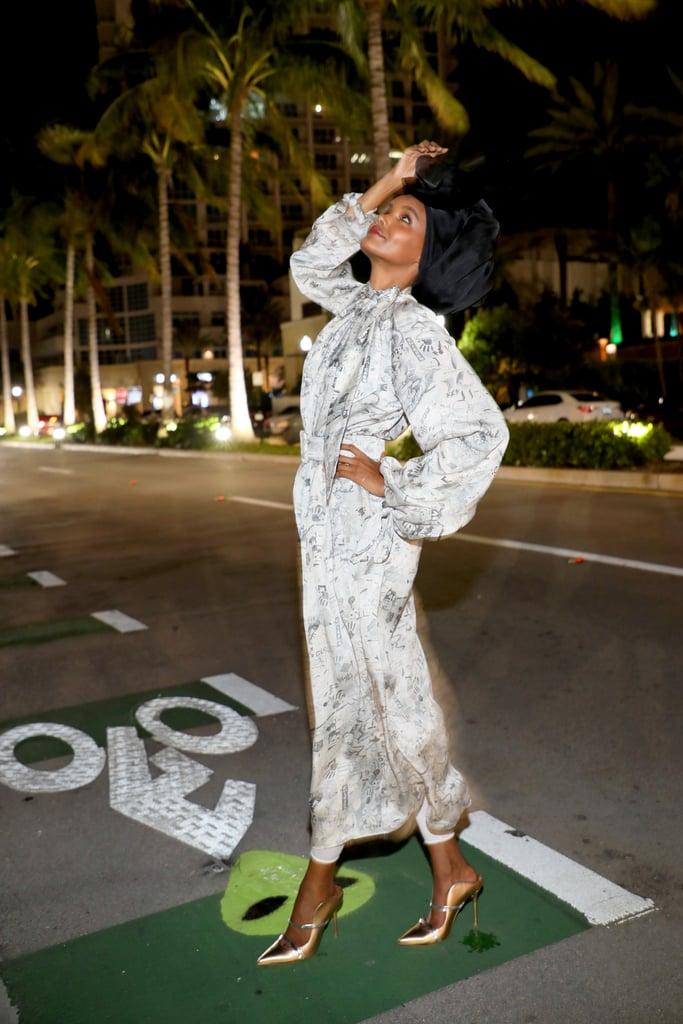 Halima Aden at Miami Swim Week