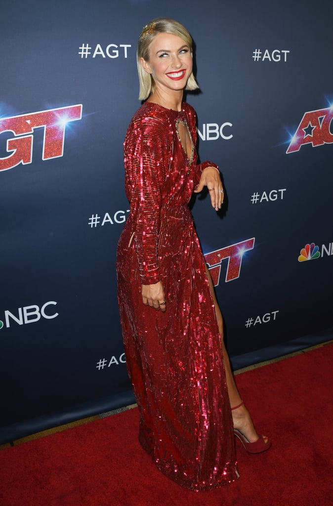 Julianne Hough's Glitter Roots Hairstyle at the AGT Finale