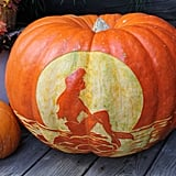 The Little Mermaid Pumpkin