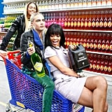 Yes, even the shopping trolley was Chanel approved.