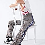 Urban Outfitters Side Striped Plaid Pant
