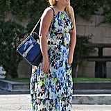 Pregnant Busy Philipps Is Flawless in Floral For an LA Outing