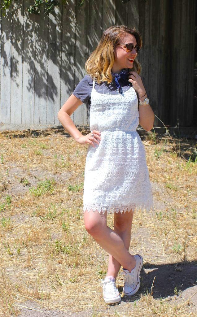 How To Wear A White Dress Popsugar Fashion