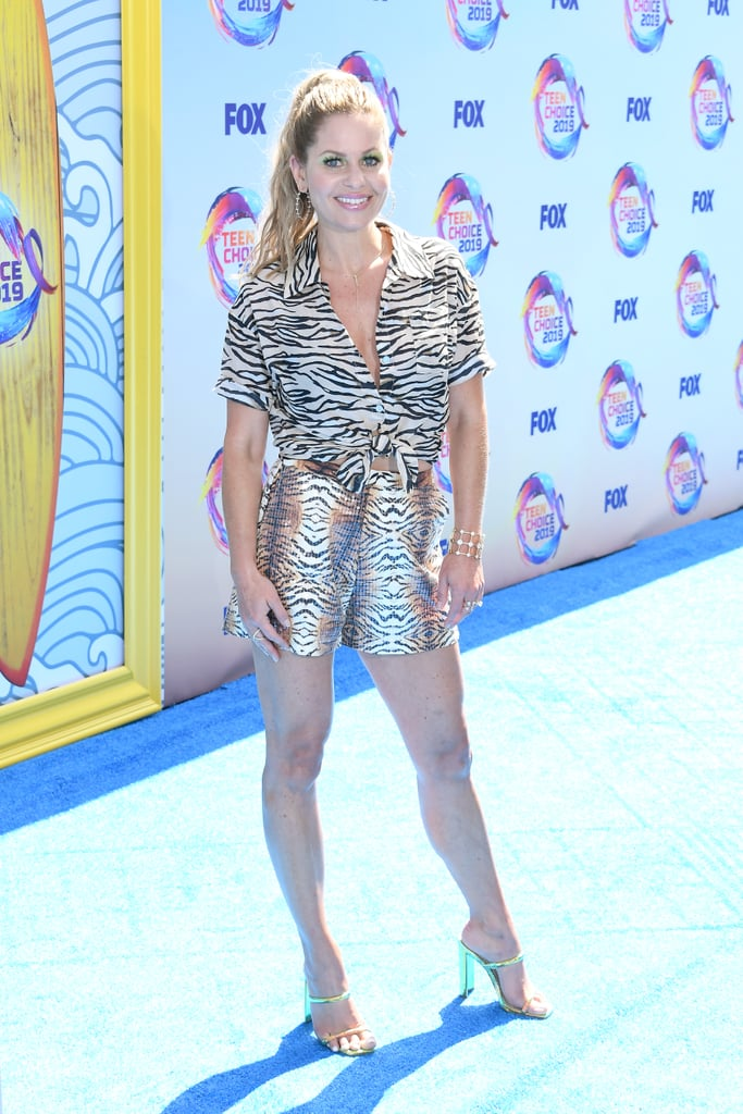 Candace Cameron-Bure at the 2019 Teen Choice Awards
