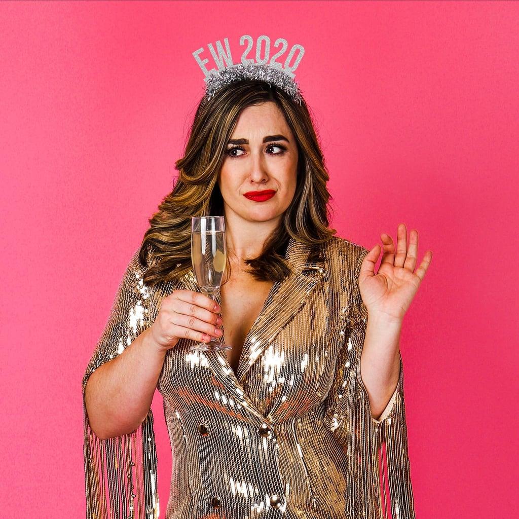 """Buy This Schitt's Creek """"Ew 2020"""" New Year's Eve Headband"""