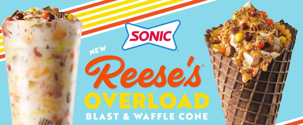 Sonic's Reese's Overload Waffle Cone and Blast | Photos