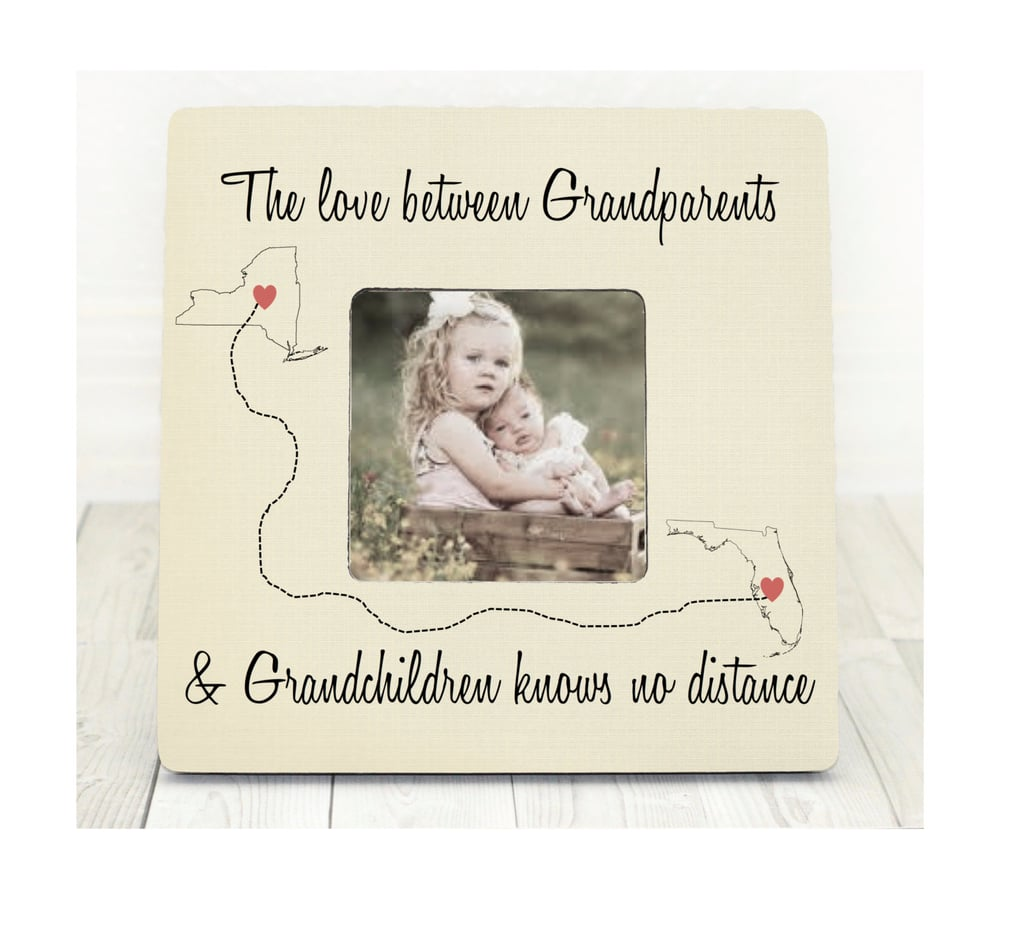Long Distance Love Frame Best Holiday Gifts For Grandparents