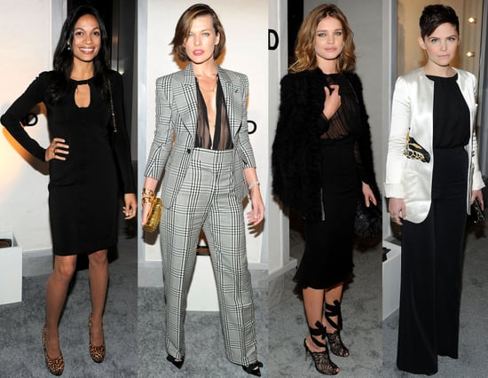 Rachel Zoe, Rosario Dawson, and More Celebrate Tom Ford's LA Store Opening