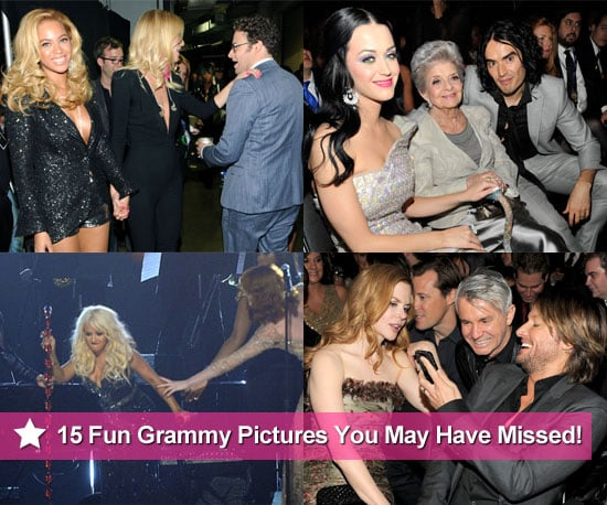 Fun 2011 Grammy Award Pictures of Beyonce, Gwyneth Paltrow, Justin Bieber, Nicole Kidman and More