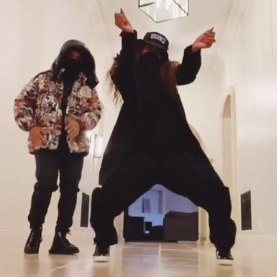 "Ciara and Russell Wilson Dance to Drake's ""Toosie Slide"""