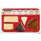 Costco's Alpine, Cheddar, Goat, Pecorino Toscana, and Fontina Cheese Flight