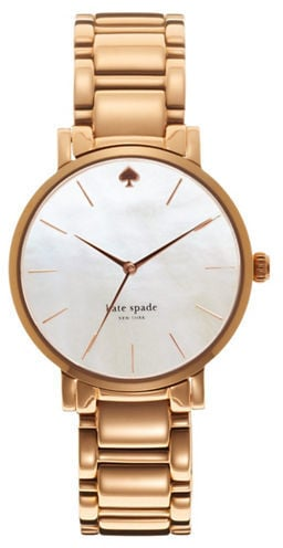 Kate Spade New York Ladies Gramercy Rose Gold Watch ($225)