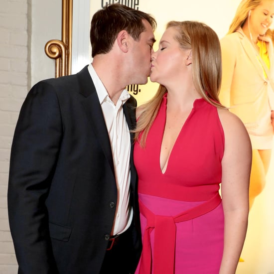 Amy Schumer and Chris Fischer at I Feel Pretty LA Premiere