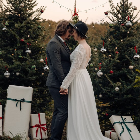 Inspiration For a Rustic Christmas Tree Farm Wedding