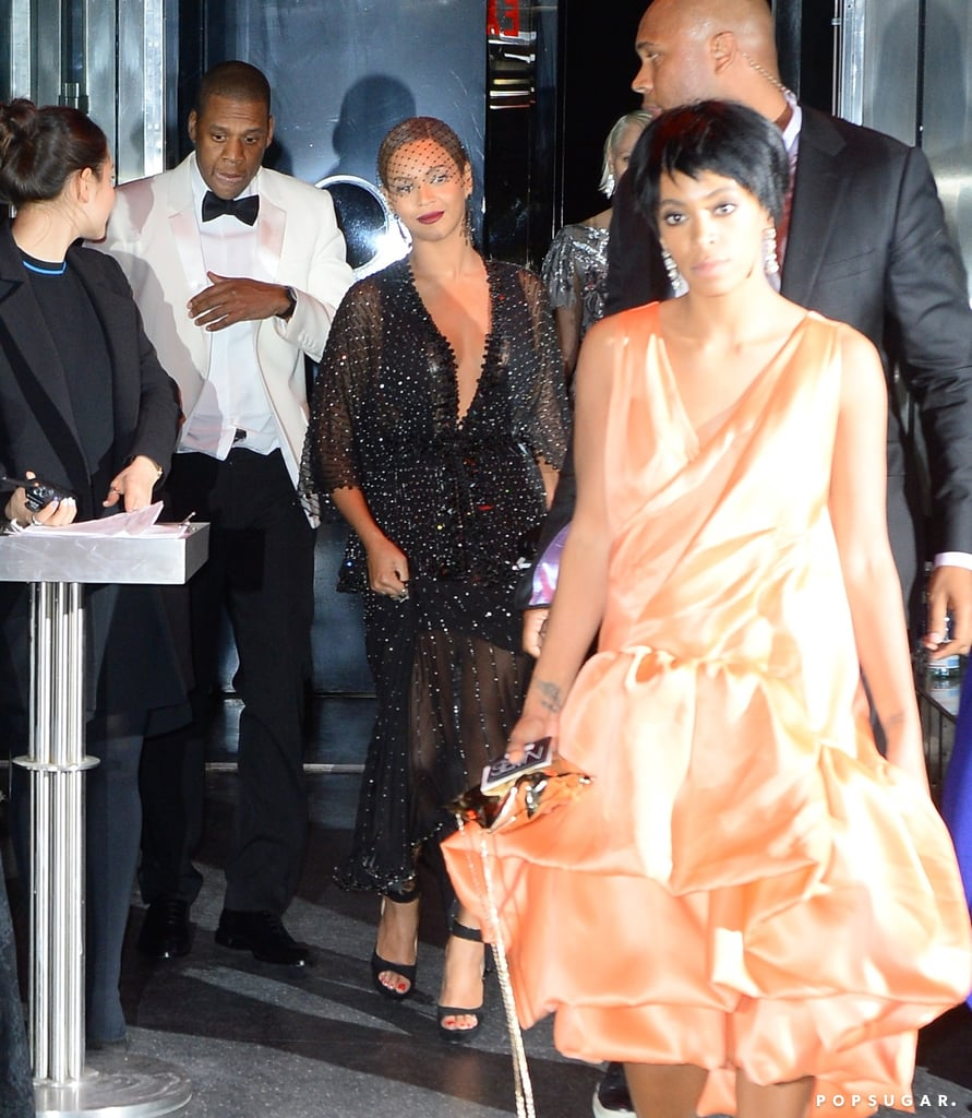 Solange Knowles Attacked Jay Z in an Lift | Video