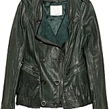 I get so much use out of a leather jacket, and this season I'm looking for something that has a nice balance of tough and feminine. Enter this 3.1 Phillip Lim leather jacket ($1,345), in the prettiest shade of hunter green — it drapes perfectly in the front and in the back, there's this cascading ruffle detail that makes this piece one-of-a-kind. Worth the investment.  — Noria Morales, style director