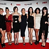 Sarah Murdoch and Contestants