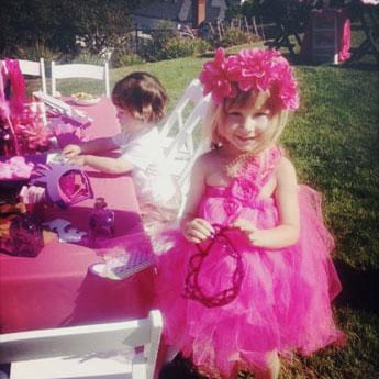 Tori Spelling's Princess Tea Party Birthday Party For Stella McDermott
