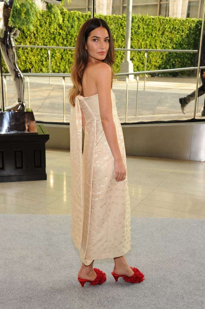 Lily Aldridge attended the CFDA Fashion Awards.