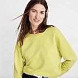 Madewell Garment-Dyed Oversized Sweatshirt