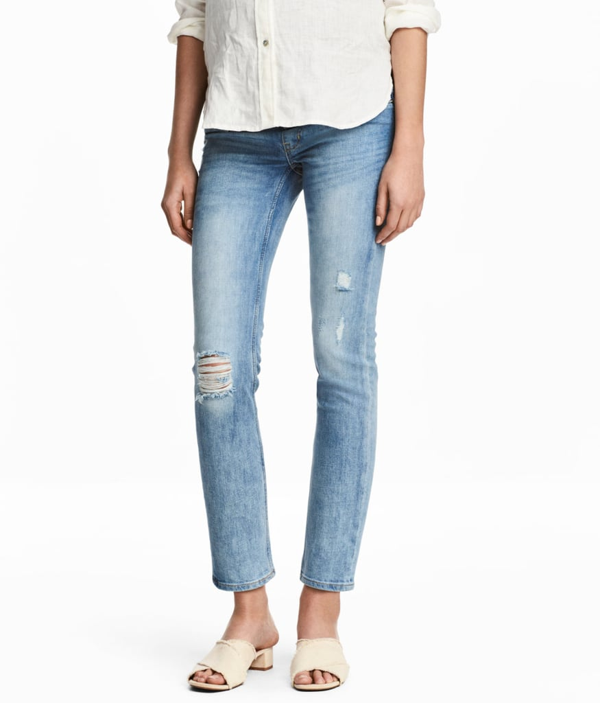 H&M MAMA Skinny Ankle Jeans