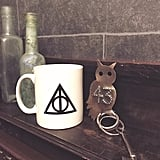 Loved the little details like the owl keys and the Deathly Hallows mug provided in the room, which you buy from the front desk.